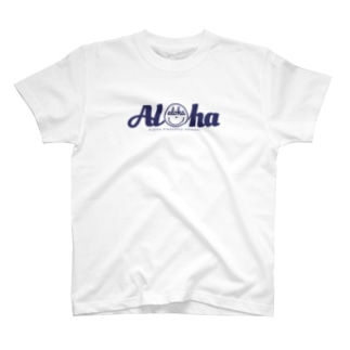 Aloha スマイル151(navy) T-shirts