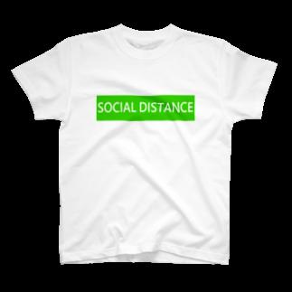 HirahiraのSocial distance T-shirts