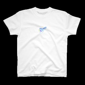 あいきゅうのHologram Neji T-shirts