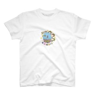 疫病退散❗️アマビエ様🙏AMABIEロゴ T-shirts