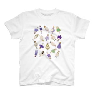 くらはしれいの箱庭の子どもたち T-shirts