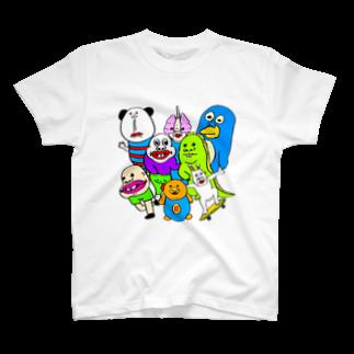 うめもと公式のドリームチーム T-shirts