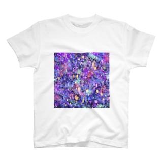 夢幻夜空 T-shirts