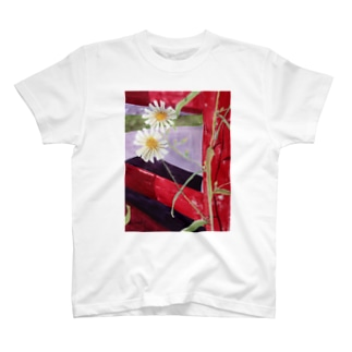 2 Daisies at the Shrine  T-shirts