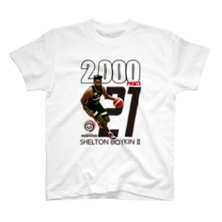BOYKIN通算2,000得点記念Tシャツ T-shirts