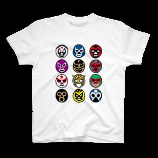 LUCHAのMASKMAN TWELVE T-shirts