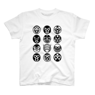 MASKMAN TWELVEmono T-shirts