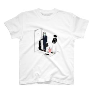 着ぐるみ家族04 T-shirts