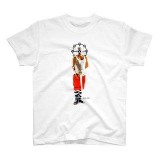 平日マスク-全身- T-shirts