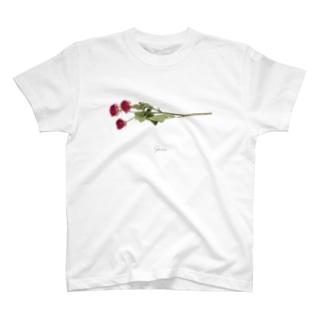ローズ #02 T-shirts