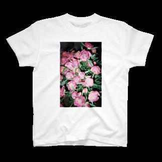 harucameraのharucamera シャクヤク T-shirts