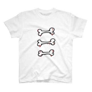 ボーン 血バージョン T-shirts