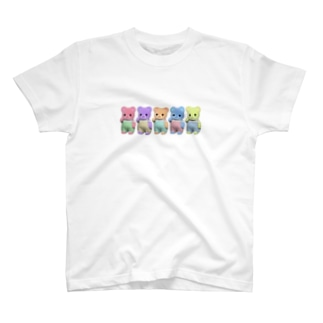 クインテットくまちゃん T-shirts