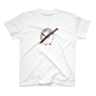 ファゴットとハリネズミ T-shirts