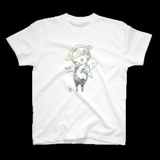春海の土星さん T-shirts