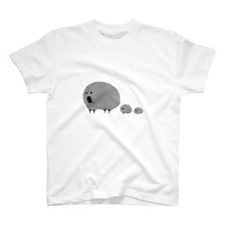 もぐちゅり T-shirts