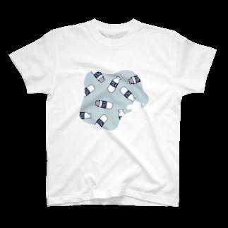 mickeのmilk Tシャツ