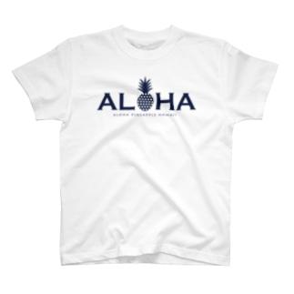 ALOHA パイナップル 030 T-shirts
