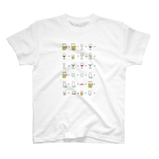アルコール T-shirts