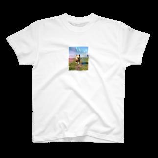 RedTonkotsuの虹のとんこつ T-shirts