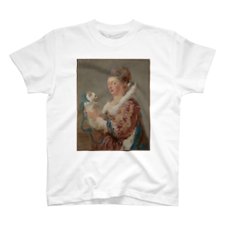 A Woman with a Dog T-shirts