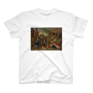 The Abduction of the Sabine Women T-shirts