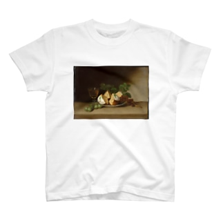 public domainのStill Life with Cake T-shirts