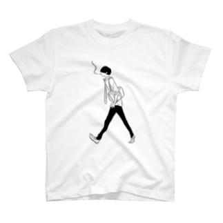 タバコの少年 T-shirts