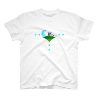 夏らる-natural- T-shirts