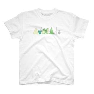 AvocAdoロゴ T-shirts