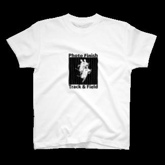 PokuStarの走るネズミと写真判定 T-shirts