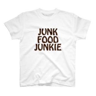 junk food junkie T-shirts