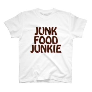 JUNK FOOD JUNKIE2 T-shirts