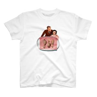 チキン食べよう T-shirts