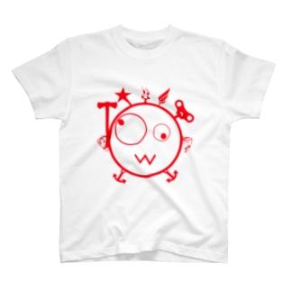 キェキェ(red) T-shirts