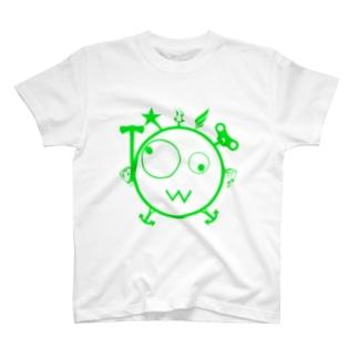 キェキェ(green) T-shirts