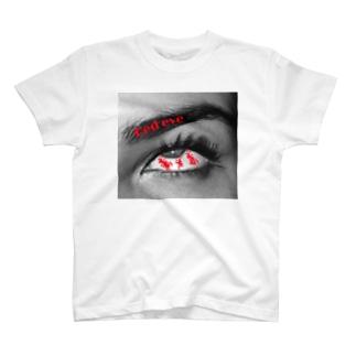 Red eye T-shirts