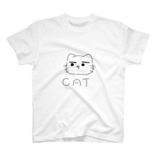 まゆ猫。きっず T-shirts
