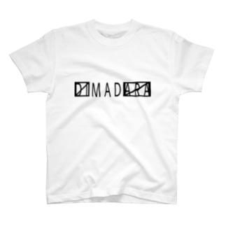〼MAD〼 黒/DB_15 T-shirts