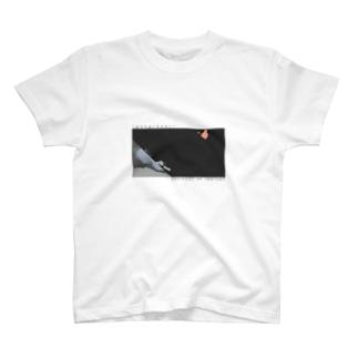 """gong / dear"" WHITE TEE T-shirts"