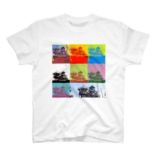 サのメカ城 T-shirts