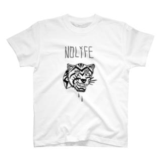 ノーライフ寅サン T-shirts