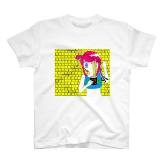 辛い拉麺を食べよう夏 T-shirts