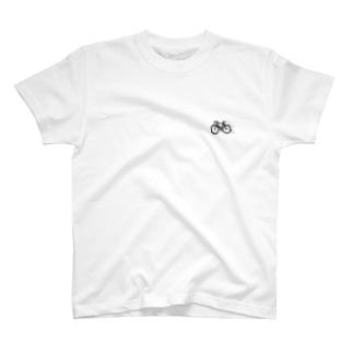 チャリも0密 T-shirts