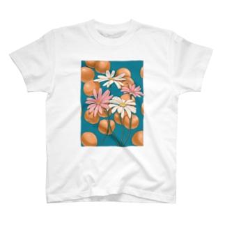 マーガレットとみかん T-shirts