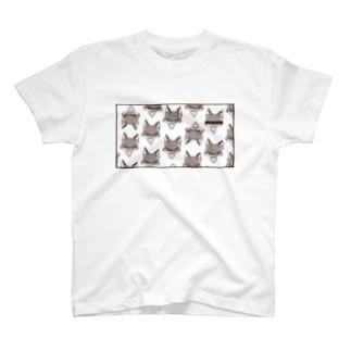 キツネのギンタ2 T-shirts