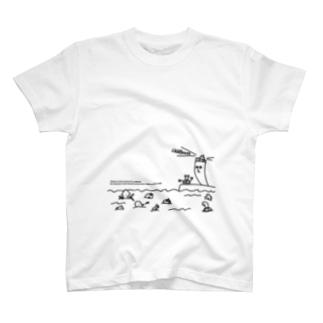 灯台が照らす T-shirts