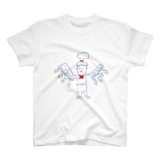 ちっちゃいオムレツ工場長代理 T-Shirt