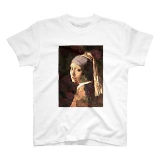 真珠の耳飾の少女 T-shirts