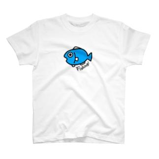 おさかなくん ブルー T-shirts